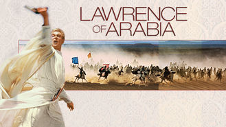 Netflix box art for Lawrence of Arabia