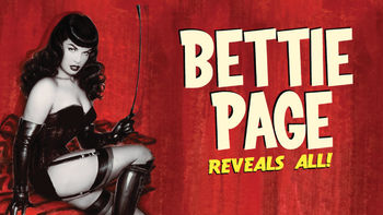 Netflix box art for Bettie Page Reveals All