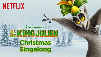 Netflix box art for King Julien Christmas Singalong 2015
