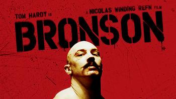 Netflix box art for Bronson
