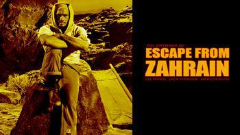 Netflix box art for Escape from Zahrain
