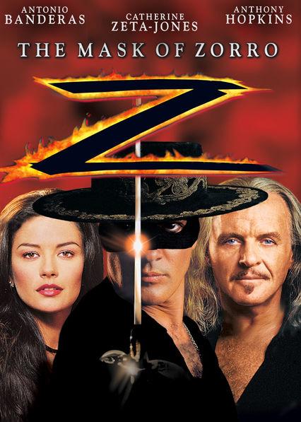 The Mask of Zorro Netflix BR (Brazil)