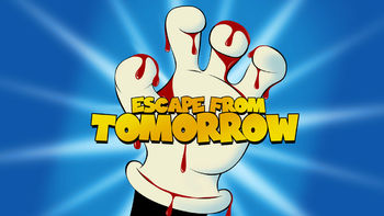 Netflix box art for Escape from Tomorrow