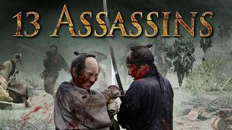 Netflix box art for 13 Assassins