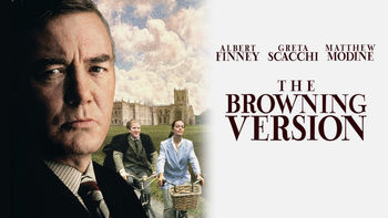 Netflix box art for The Browning Version