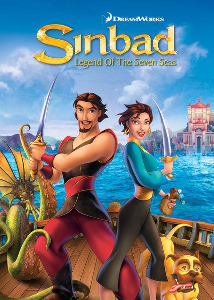 Sinbad: Legend of the Seven Seas Netflix BR (Brazil)