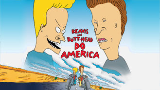 Netflix box art for Beavis and Butt-head Do America