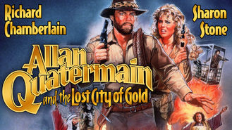 Netflix box art for Allan Quatermain and the Lost City of Gold