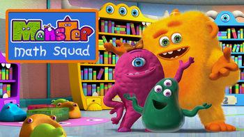 Netflix box art for Monster Math Squad - Season 1