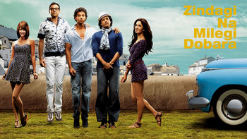 Netflix box art for Zindagi Na Milegi Dobara