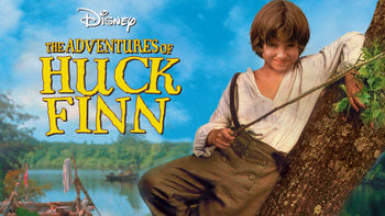 Netflix box art for The Adventures of Huck Finn