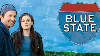 Netflix box art for Blue State