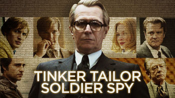 Netflix box art for Tinker, Tailor, Soldier, Spy