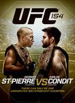 UFC 154: St-Pierre vs. Condit Poster