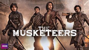 Netflix box art for The Musketeers - Season 1