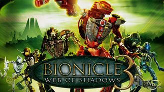 Netflix box art for Bionicle 3: Web of Shadows