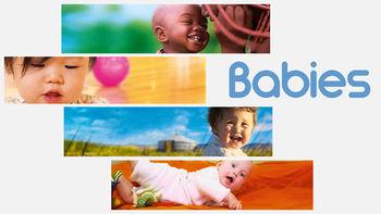 Netflix box art for Babies