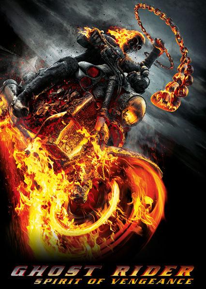 Ghost Rider: Spirit of Vengeance Netflix AR (Argentina)