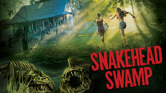 Netflix box art for Snakehead Swamp