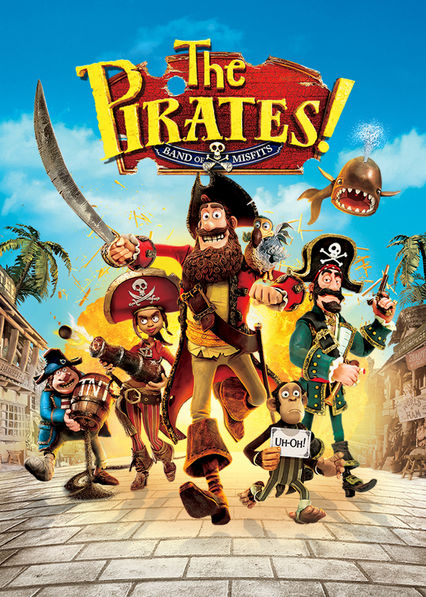The Pirates! Band of Misfits Netflix TW (Taiwan)