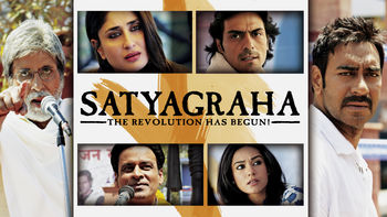 Netflix box art for Satyagraha