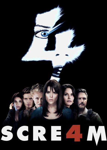 Scream 4 Netflix BR (Brazil)