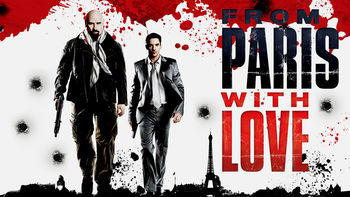 Netflix box art for From Paris with Love