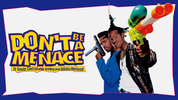Netflix box art for Don't Be a Menace to South Central