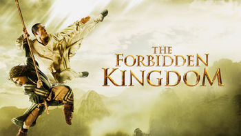 Netflix box art for The Forbidden Kingdom