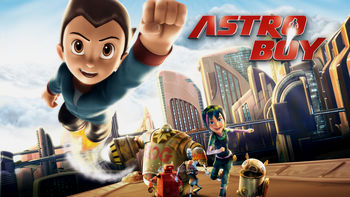 Netflix box art for Astro Boy