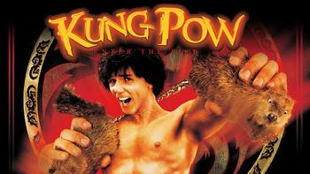 Netflix box art for Kung Pow: Enter the Fist