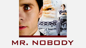 Netflix box art for Mr. Nobody