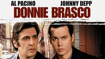 Netflix box art for Donnie Brasco