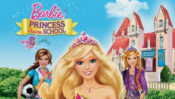 Netflix box art for Barbie: Princess Charm School