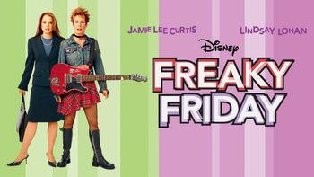 Netflix box art for Freaky Friday