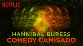 Netflix box art for Hannibal Buress: Comedy Camisado