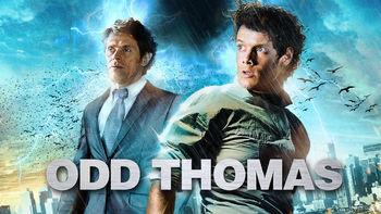 Netflix box art for Odd Thomas