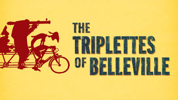Netflix box art for The Triplets of Belleville