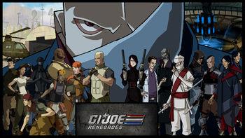 Netflix box art for G.I. Joe: Renegades - Season 1