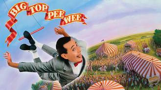Netflix box art for Big Top Pee-wee