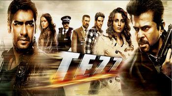 Netflix box art for Tezz