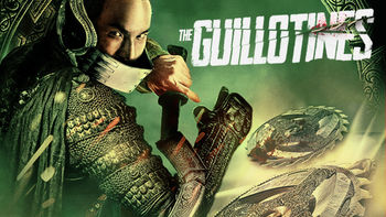 Netflix box art for The Guillotines