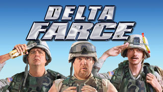 Netflix box art for Delta Farce