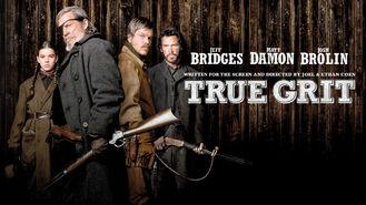 Netflix box art for True Grit