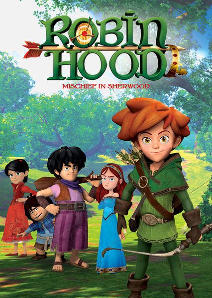 Robin Hood: Mischief in Sherwood Netflix BR (Brazil)