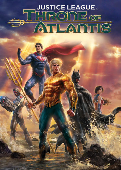Justice League: Throne of Atlantis Netflix AU (Australia)