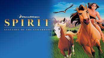 Netflix box art for Spirit: Stallion of the Cimarron