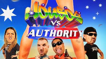Netflix box art for Housos vs. Authority