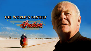 Netflix box art for The World's Fastest Indian