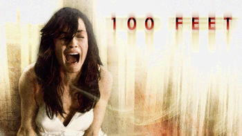 Netflix box art for 100 Feet
